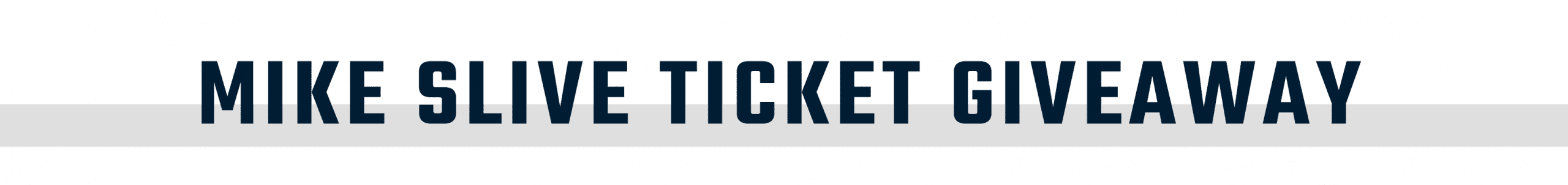 Mike Slive Ticket Giveaway